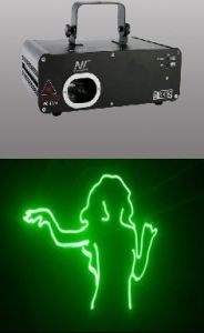 100mw Green Cartoon Laser Light (NC-100G)