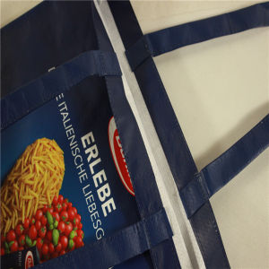 PP Woven Tote Handle Shopping Bag for Promotion (MECO148) pictures & photos