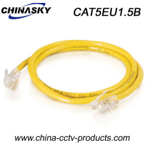 1.5 Meters UTP Cat5e Ethernet Cable for Security System (CAT5EU1.5B) pictures & photos