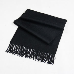Pure Color Wool Cashmere Scarf for Men and Women CD20al pictures & photos