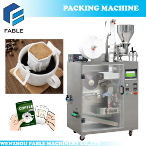 Automatic Hanging Ear Type Drip Coffee Pouch Packing Machine pictures & photos