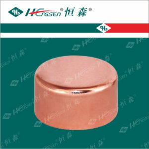 Copper End Cap for Refrigeration Pipe Fitting pictures & photos