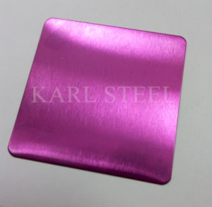 High Quality 430 Stainless Steel Color Sheet for Decoration Materials pictures & photos