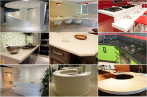 Bendable Pure Acrylic Solid Surface for Wall Panel (GMA) pictures & photos
