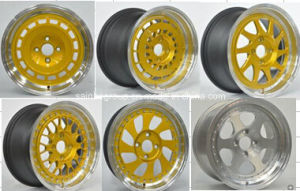 "New Design 15X7 15X8 Inch Car Alloy Wheels (15"") pictures & photos"