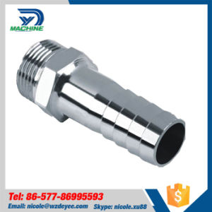 Stainless Steel Sanitary NPT Hex Hose Adapter pictures & photos
