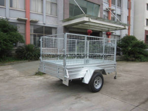 2016 Hot Sale! ! ! Australia Standard Box Utility Trailer with Cage pictures & photos