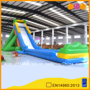 Commercial Use Inflatable High Water Slide (AQ1031-1) pictures & photos