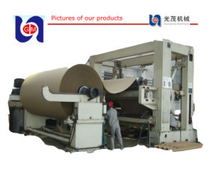 Paper Kraft Corrugated Making Machines Fluting Paper Line pictures & photos