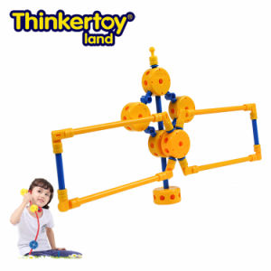 Thinkertoy Land Blocks Educational Toy Military Series Carrier Rocket Big Aircraft (M6603)