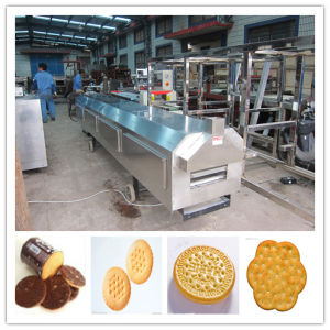 Newly Design Stainless Steel Gas Biscuit Production Line pictures & photos