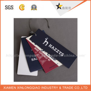 Factoory Custom Design Hot Sale Paper Hang Tag pictures & photos
