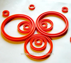 Custom Oil Resistant PU Seal Ring pictures & photos