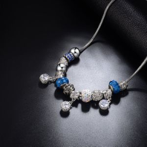 Women Accessories Silver Plated Beaded Pandora Jewelry Necklace pictures & photos
