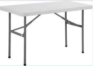 Cheap Portable Plastic Folding Banquet Rectangular Table pictures & photos