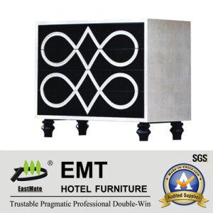 Fashionable Unique Painting Design Hotel Decorative Cabinet (EMT-DC03) pictures & photos