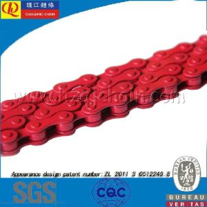 420 Red Precision Motorcycle Chain pictures & photos