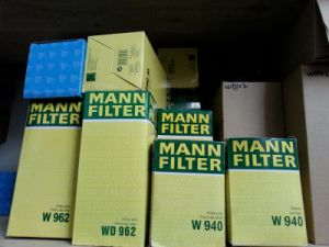 Screw Air Compressor Part W962 Mann Oil Filter pictures & photos