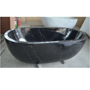 china stone black marble garden tub small bathtub for