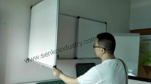 Triple Folded Three-in-One Whiteboard pictures & photos