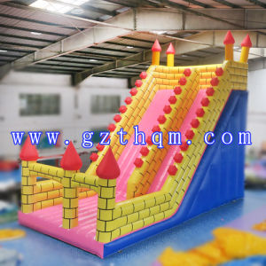 Commercial Adult Inflatable Water Slide with Big Pool / Residential Inflatable Slides pictures & photos