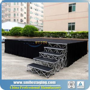 Moving Smart Stage with Portable Stage Platform for Concert/DJ Stage pictures & photos