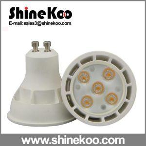 Aluminium Plastic GU10 Gu5.3 SMD 5W LED Spot Light pictures & photos