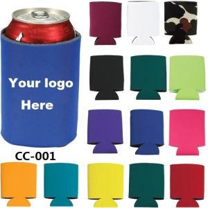 Neoprene Can Cooler with Customer Logo Printing pictures & photos
