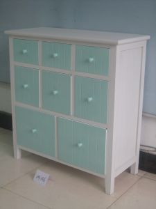 Fresh Simple Style Cabinet with 8 Drawers (FCJ04156)