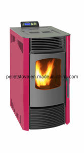 TUV Certified Indoor Using Automatic Wood Pellet Stove with Remote Control pictures & photos