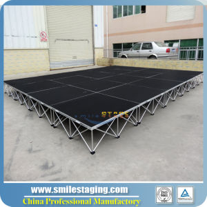 Plywood Mobile Stage with Aluminum Riser for Concert/Wedding/Catwalk Stage pictures & photos