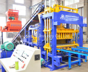Qt5-15 Automatic Hydraulic Hollow Bricks Blocks Making Machines pictures & photos