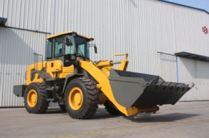 Front End Loader (3.0 Ton, Hydraulic joystick, Electric gear) pictures & photos