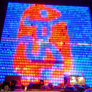 China Popular Outdoor LED Display Screen Curtain Screen