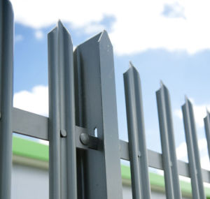 Hot DIP Galvanizing Security Steel Fence pictures & photos
