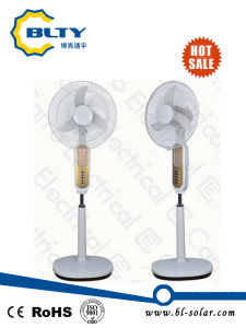 DC Solar Rechargeable Stand Fan pictures & photos