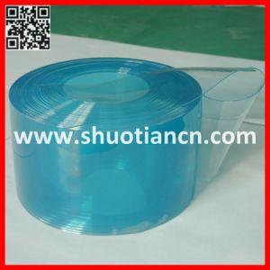 Clear Freezer Plastic PVC Door Curtain (ST-002) pictures & photos