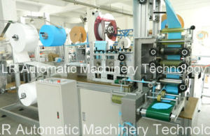 N95 Nonwoven Antifogging Dust Cover Mask Making Machine pictures & photos