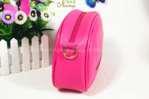 Girls Lovely Shiny Hot Pink Cosmetic Clutch Bag pictures & photos