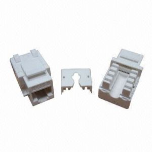 90 Dgree CAT6 UTP RJ45 Keystone Jack (ST-CAT6-KJ09-G) pictures & photos
