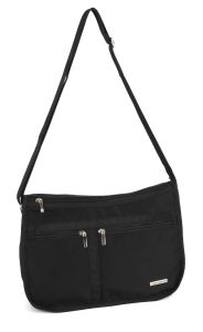 Nylon Cross Body Shoulder Purse, Womens Evening Messenger Satchel Bag
