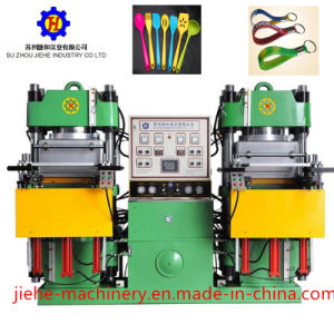 Double Station Rubber Vacuum Compression Molding Machine pictures & photos