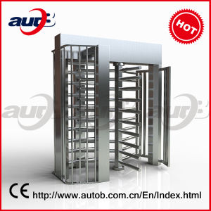 Autob CE Approved Double Full Height Turnstile Gate (A-TF202+)