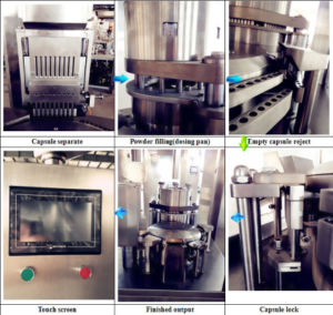 Factory Price Fully Automatic Herb Powder Capsule Filling Machine pictures & photos