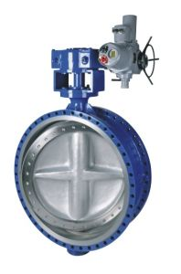 API609 Electric High Performance Three-Eccentric Butterfly Valve API Ce pictures & photos