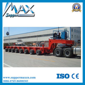 Multi-Directional Steering 100-500 Tons Self Propelled Module Semi Trailer pictures & photos