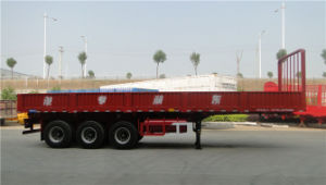 10.5m Right-Dumping Wall Side Semi-Trailer
