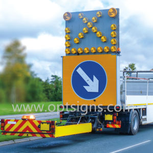 Ce En12966 European 27 Lamps Tma Truck Mounted Arrow Boards pictures & photos