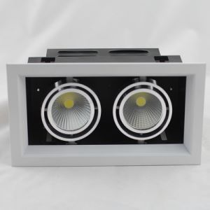 One Head/Two Heads/Three Heads COB LED Grille Light pictures & photos