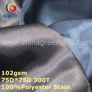 100%Polyester Stain Imitated Silk Fabric for Lining Curtain Garment (GLLML266) pictures & photos